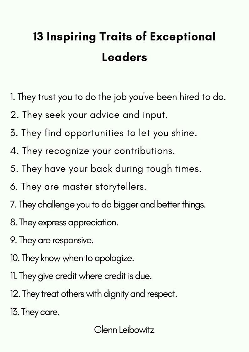Are you an Exceptional Leader? Your answer matters.