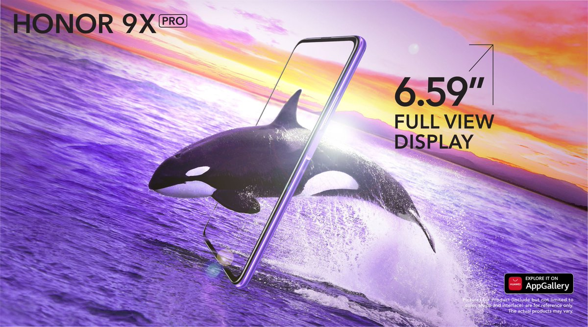 "There's a few reasons the #HONOR9XPro is making waves. Before you stands a 6.59"" full-view screen. Good luck telling reality apart. #UpForXtraordinary  Lazada 👉 https://t.co/UWdUkqwQi9 Shopee 👉 https://t.co/GR1GOVXL7H SenHeng 👉 https://t.co/9duBMQjIO9 https://t.co/ZETGfSGf79"