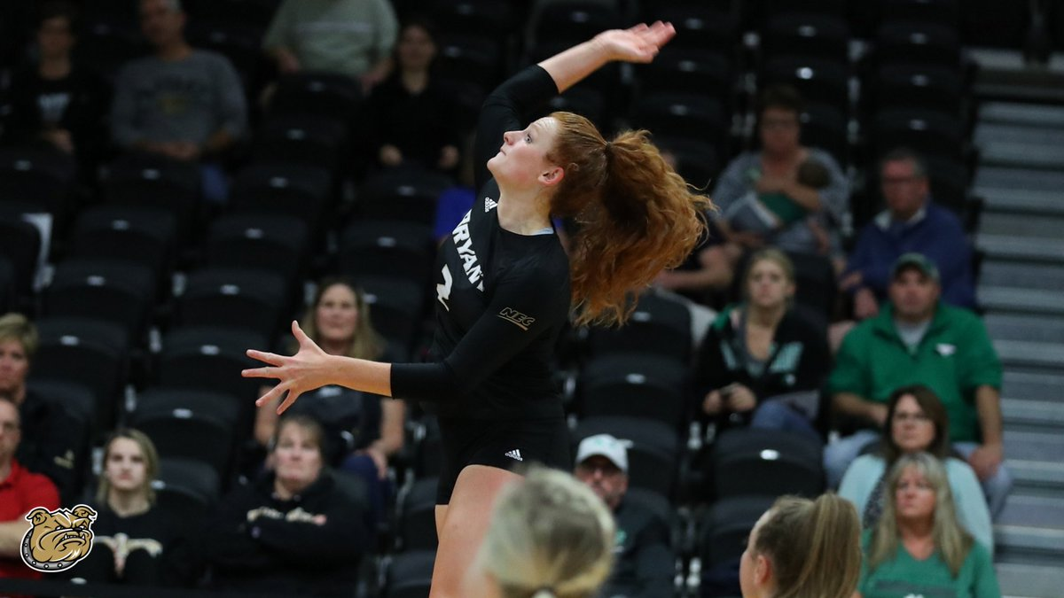 📊 Our wins over Merrimack and Saint Francis U in the first week of October featured two of the top eight single-match hitting percentages in our Division I era.  #GoBryant   #NECVB https://t.co/6lsCKHecVt