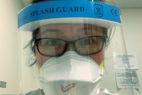 Covid-19 calls MIT physician-scientist to front-line respiratory care mitsha.re/adsL50zu54r