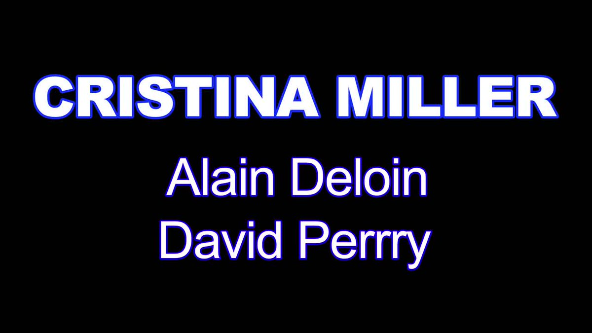 [New Video] Cristina Miller - XXXX - My first DP https://t.co/DUB2VZwW4z https://t.co/4VjsHM6OST
