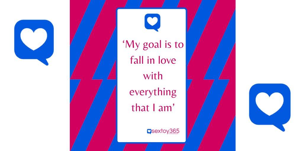 Goals... #goals #bodypositivity #bodyconfidencemovement #sexblogger #selfcare #selflove #ST365pic.twitter.com/9KGVZ7Sn80