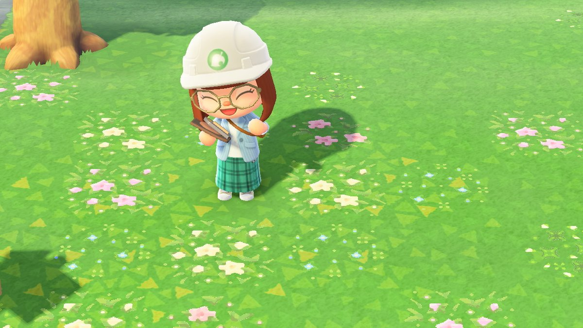 more flowers always good ♡ three new patterns to spice up your grass! #ACNH #ACNHdesign #AnimalCrossing #どうぶつの森 #マイデザイン
