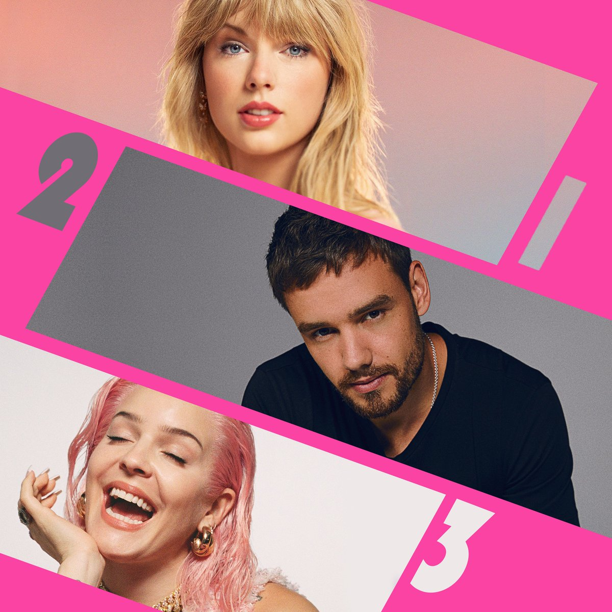 Here's Monday's #RDTop3!  1. @TaylorSwift13 - #SoonYoullGetBetter (f. @DixieChicks) 2. @Alesso - #Midnight (f. @LiamPayne) 3. @AnneMarie - #Her<br>http://pic.twitter.com/GgXz76CRlt