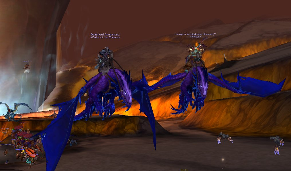 got the Uncorrupted Voidwing from Ny'alotha! thanks to @Gallywixboost and my friend for the dragon!