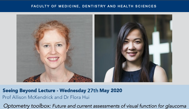 Please join us for a free webinar @UniMelbMDHS @OptometryAus with Prof Allison McKendrick and Dr Flora Hui @florahui https://t.co/oMmW70RP09