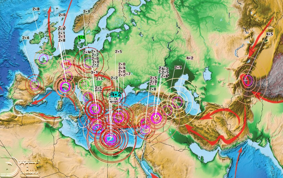 News Burst 4 Maggio 2020 - Earthquakes today in Europe