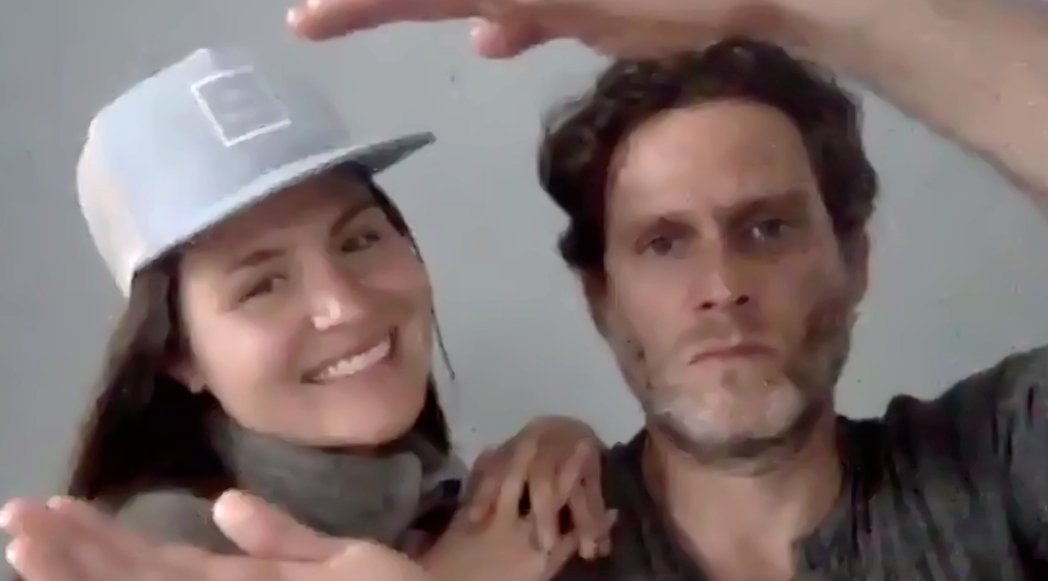 .@StevePasquale and @Phillipasoo present Outstanding Featured Actor in a Musical. #LortelAwards