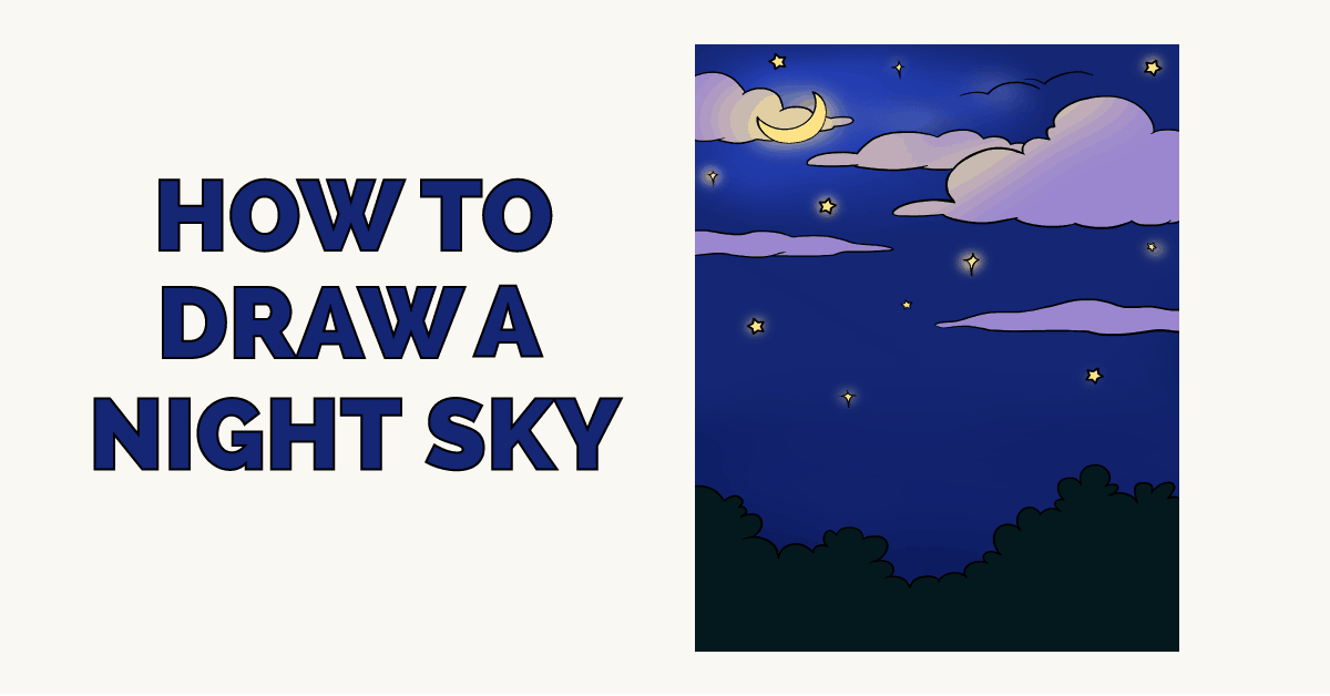 Easy Drawing Guides On Twitter How To Draw A Night Sky Easy To Draw Art Project For Kids See The Full Drawing Tutorial On Https T Co Xgbgdma5lg Night Sky Howtodraw Drawingideas Https T Co Clgjtt5jbx You are certain to find the perfect drawing project, no matter your skill. easy drawing guides on twitter how to