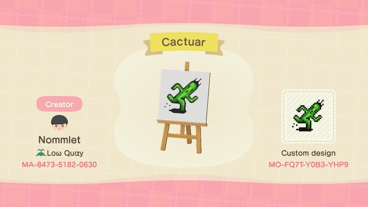 Got Bored. Have a cactuar. #AnimalCrossing #ACNH #NintendoSwitch https://t.co/3T0p99lfAB