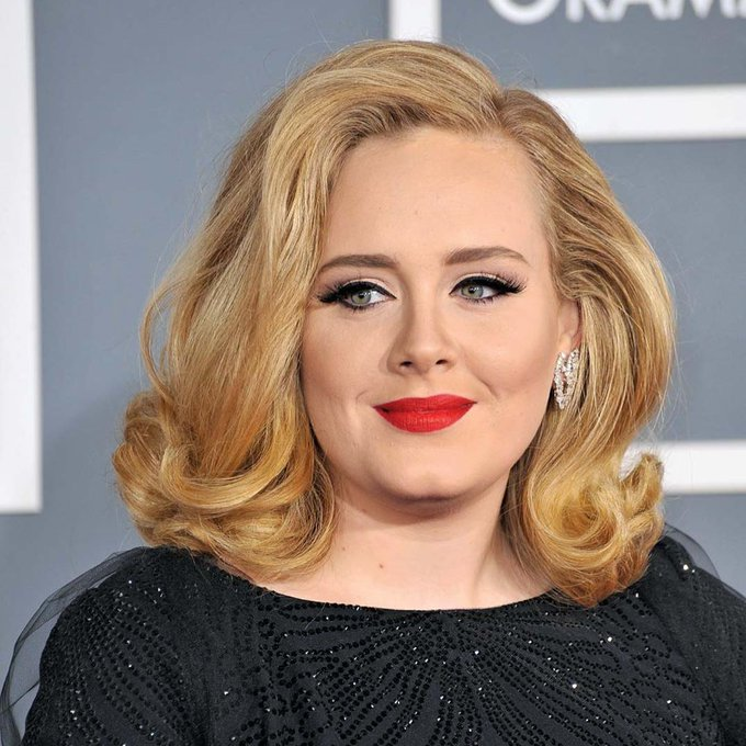 Happy birthday to  Adele in advance    we miss you