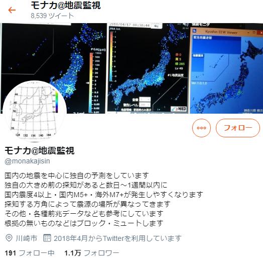地震予知ミッシェル