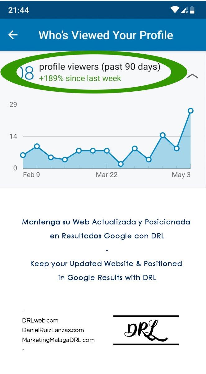 - https://t.co/RJ8BC8EfNr https://t.co/bJ47DLE8i4 https://t.co/6NXtzWRfSS  - #MantengasuWebActualizadayPosicionada #enResultadosGoogle  #conDRL #KeepyourUpdatedWebsiteandPositioned #withDRL #DRLweb #DanielRuizLanzas #MarketingMalagaDRL https://t.co/WhedyJQgdL