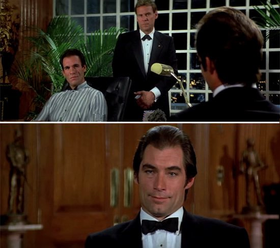 """For Your Films Only on Twitter: """"#30DaysofJamesBond 4. Favourite Timothy  Dalton scene. Love this from License To Kill when Bond meets Sanchez. """"More  of a problem eliminator."""" Hard as nails and Fleming's"""