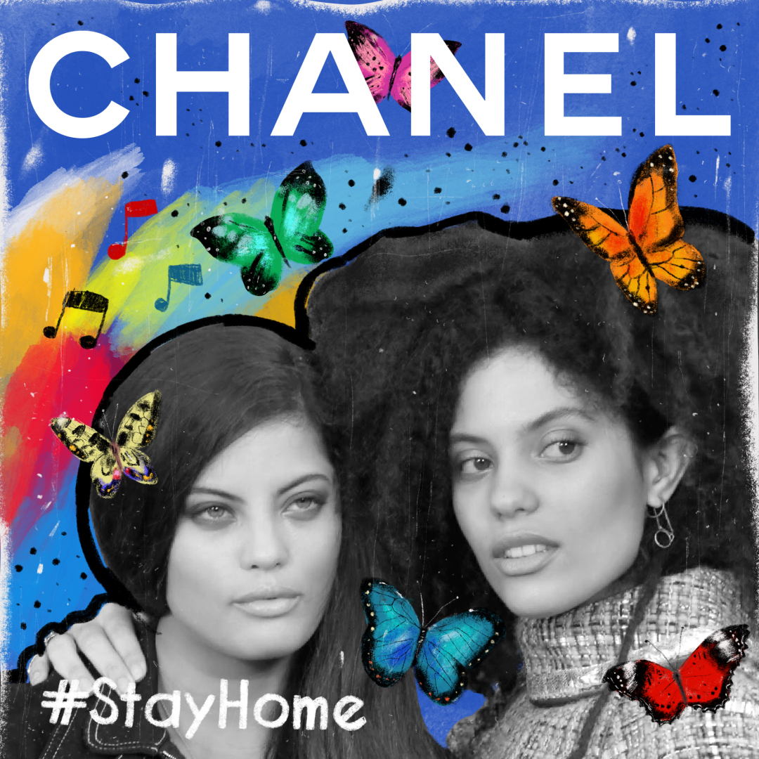 Ibeyi's playlist refresh for CHANEL — now playing on Apple Music.  #TheSoundofCHANEL  @AppleMusic