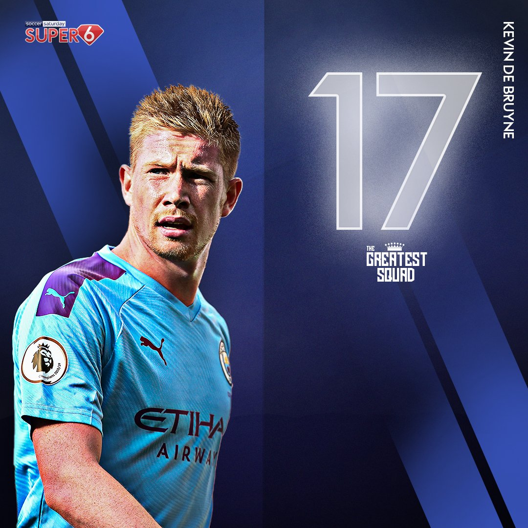 It's a walkover! 😎  Kevin de Bruyne takes the #17 shirt in #TheGreatestSquad 🔥  Just one number remains... 👀 https://t.co/IE78mQmEo5 https://t.co/fBf1ahPSmL