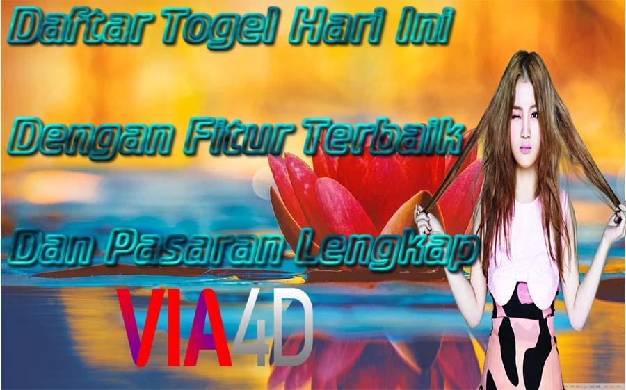 VIA4D TOGEL ONLINE DENGAN FITUR TERBAIK DAN PASARAN TERLENGKAP YANG ADA DI INDONESIA . . . . . . #VIA4D #TOTOSGP #TOTOHK #TOTOINDONESIA #SUHO #TABELSHIO2020 #HAPPY_for_TAEYEON #PromoPuncakShopeeBesoK #COVID19 #TAHUN2020 #SHIOTIKUS #SHIOULAR #SHIONAGA #VIA4DTOGELONLINE #VIA4DSLOT https://t.co/rYP3LJuYVm