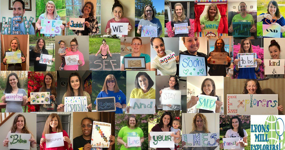 Hey LMES, your teachers love you and miss you more than you could ever know!