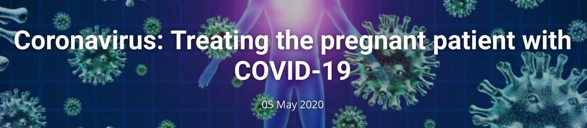 Tomorrow Tuesday 5th May at 11:00 BST and available online afterwards @ISUOG Webinar on treating pregnant women with COVID19 - covering critical care, therapeutic option, impact on LMIC's and thrombosis in relation to #COVID19  https://t.co/JmSCDZYLMS https://t.co/7p0kNymhh7