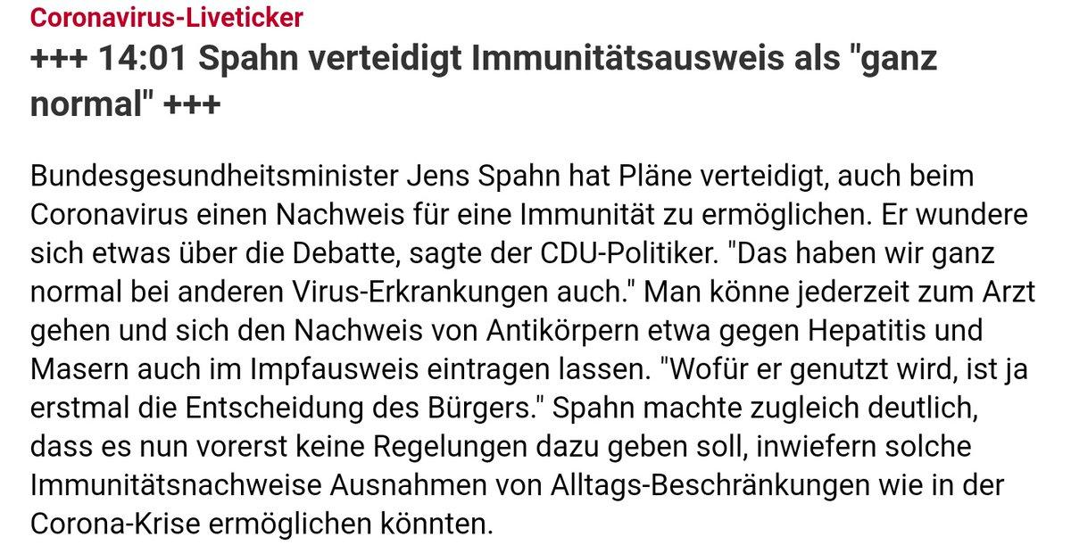 #Immunitätsausweis