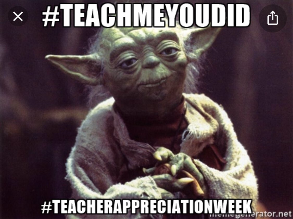 RT <a target='_blank' href='http://twitter.com/APS_ATS'>@APS_ATS</a>: Happy Teacher Appreciation Week!<a target='_blank' href='http://search.twitter.com/search?q=ThankAPSTeachers'><a target='_blank' href='https://twitter.com/hashtag/ThankAPSTeachers?src=hash'>#ThankAPSTeachers</a></a> <a target='_blank' href='http://search.twitter.com/search?q=Maythe4thbewithyou'><a target='_blank' href='https://twitter.com/hashtag/Maythe4thbewithyou?src=hash'>#Maythe4thbewithyou</a></a> <a target='_blank' href='https://t.co/q35MD7kPVU'>https://t.co/q35MD7kPVU</a>
