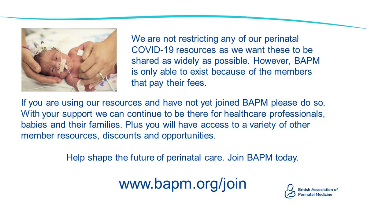 If you've not joined BAPM yet please do it now. We'd love to have you.  https://t.co/xONWkFXwry  For anyone that works in perinatal care. https://t.co/sqm17PFxYz