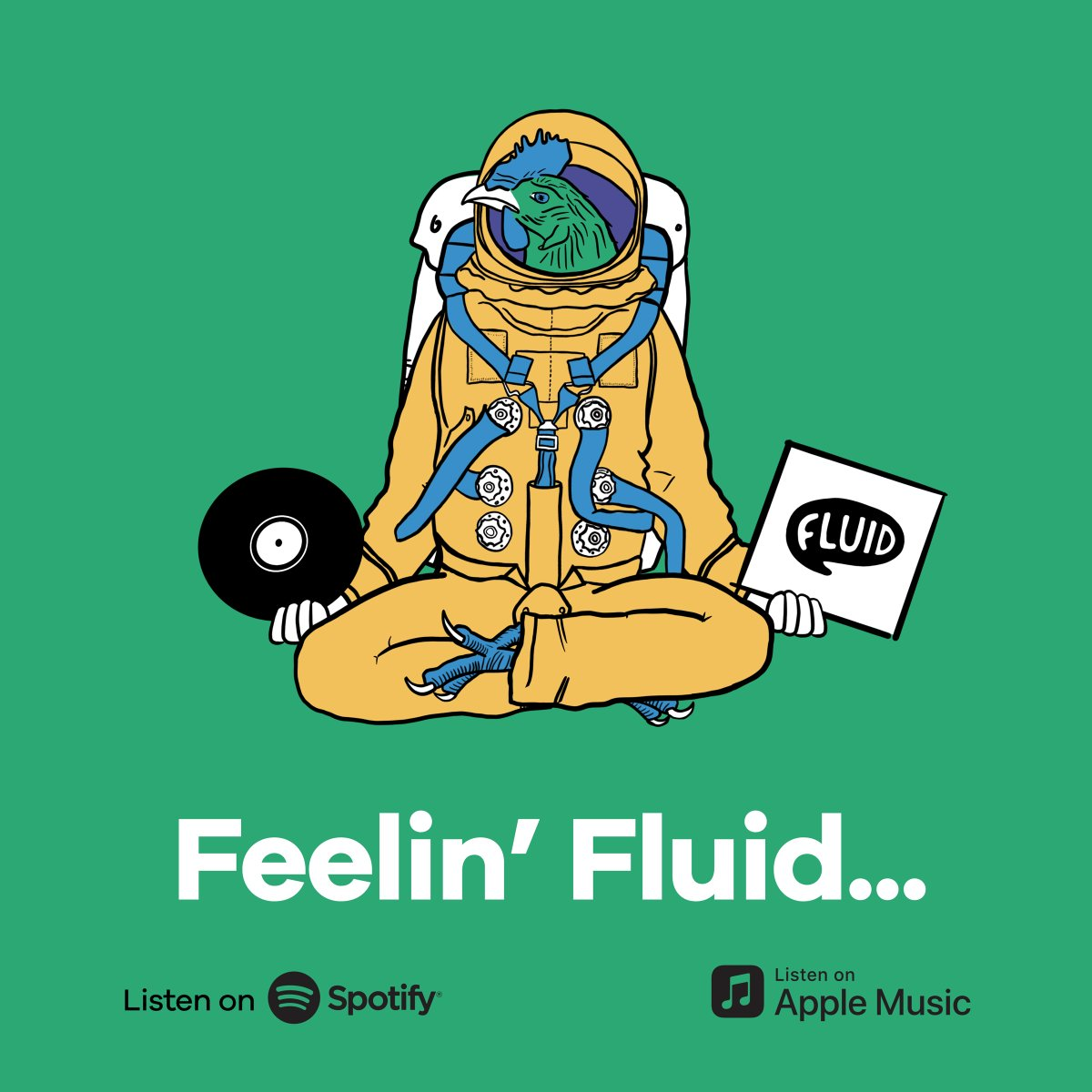 The Fluid studio is a musical place. 90s rave classics to rogue Rammstein- we miss it all. So we've made a playlist that all of the team contribute to fill that void. Head to Spotify: https://t.co/ooQiJz210o Or Apple Music: https://t.co/3uKfQubg2D  #FeelinFluid #WFHPlaylist https://t.co/nAzSbDU9mO