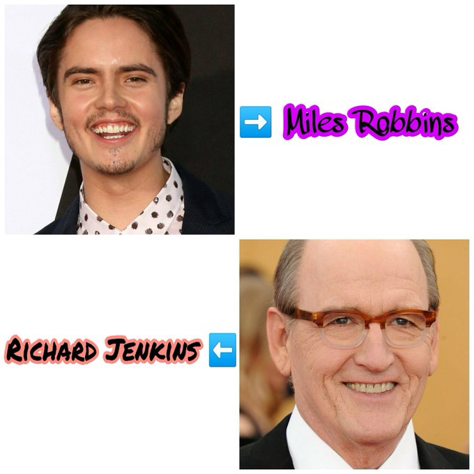 Happy Birthday Miles Robbins and Richard Jenkins..