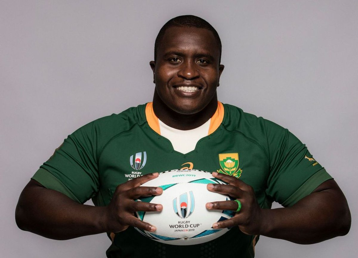Happy Birthday to the man that is always smiling! @Springboks and Vodacom @BlueBullsRugby prop, @NtandoTrevor! We hope its a good one Trevor!