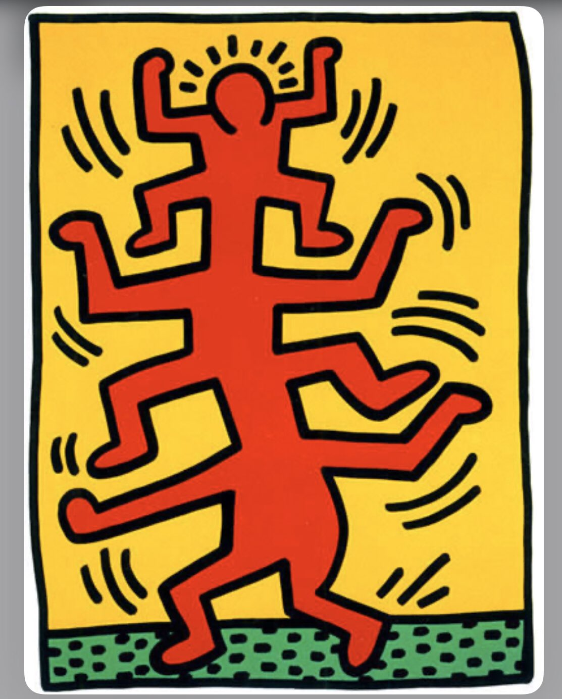 Happy birthday to Keith Haring!