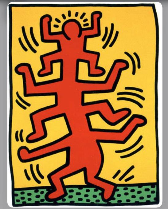 Happy birthday to Keith Haring!