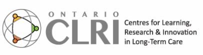 Our @Baycrest Centre for Learning Research and Innovation in Long Term Care (CLRI) is delivering weekly online sessions to help those working in LTC build knowledge, resiliency and strengthen their teams. @EchoOntario @CLRI_LTC clri-ltc.ca/events/echo-co…