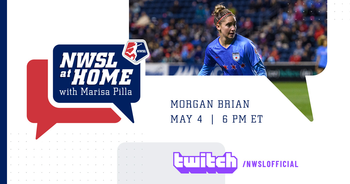 .@moeebrian will be live on @Twitch with @Pilla_Talk tonight.   Send questions using #NWSLatHome and your questions could be answered during the episode. https://t.co/MfEsP72q7t