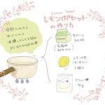 びっくりするほど簡単!たった3つの材料で作れる「レモンポセット」のレシピ!