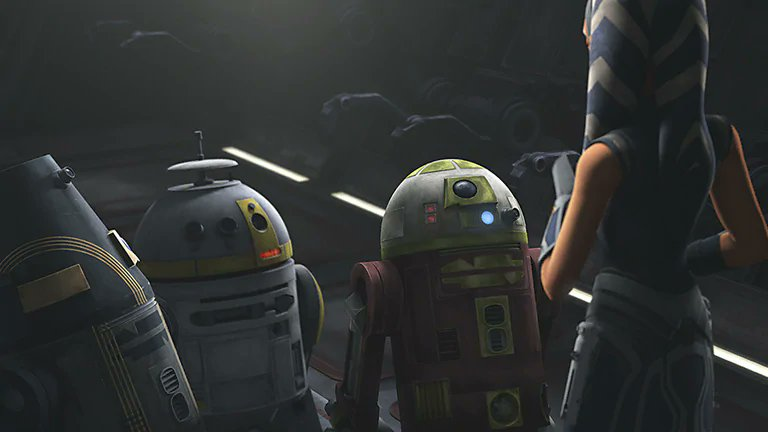 """WeRateDroids on Twitter: """"This RG-G1 """"G-G,"""" CH-33p """"Cheep,"""" and R7-A7. These three astromech droids represent some of the most loyal and bravest droids in the entire galaxy. These droids deserve an intergalactic"""
