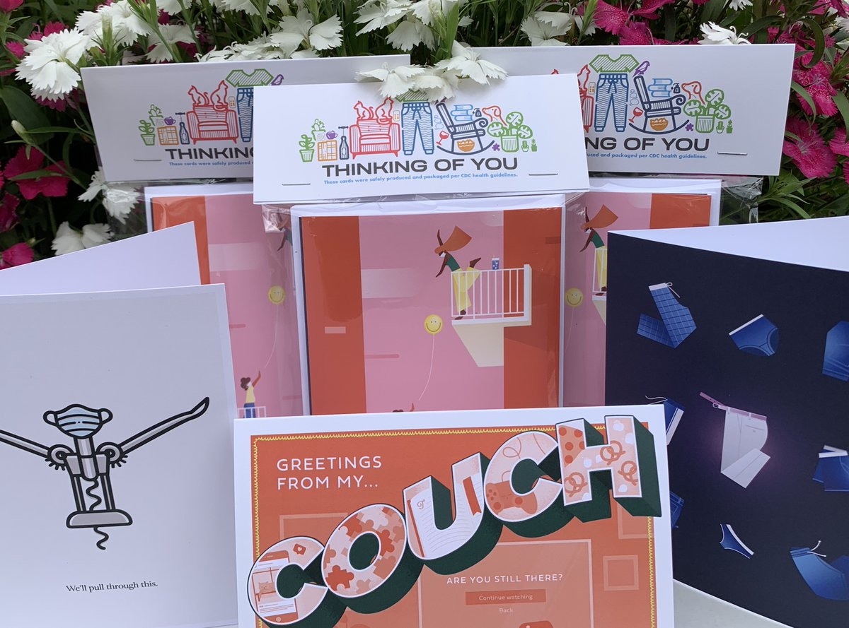 Reach out and touch someone with these fun cards from @WorthPrinting