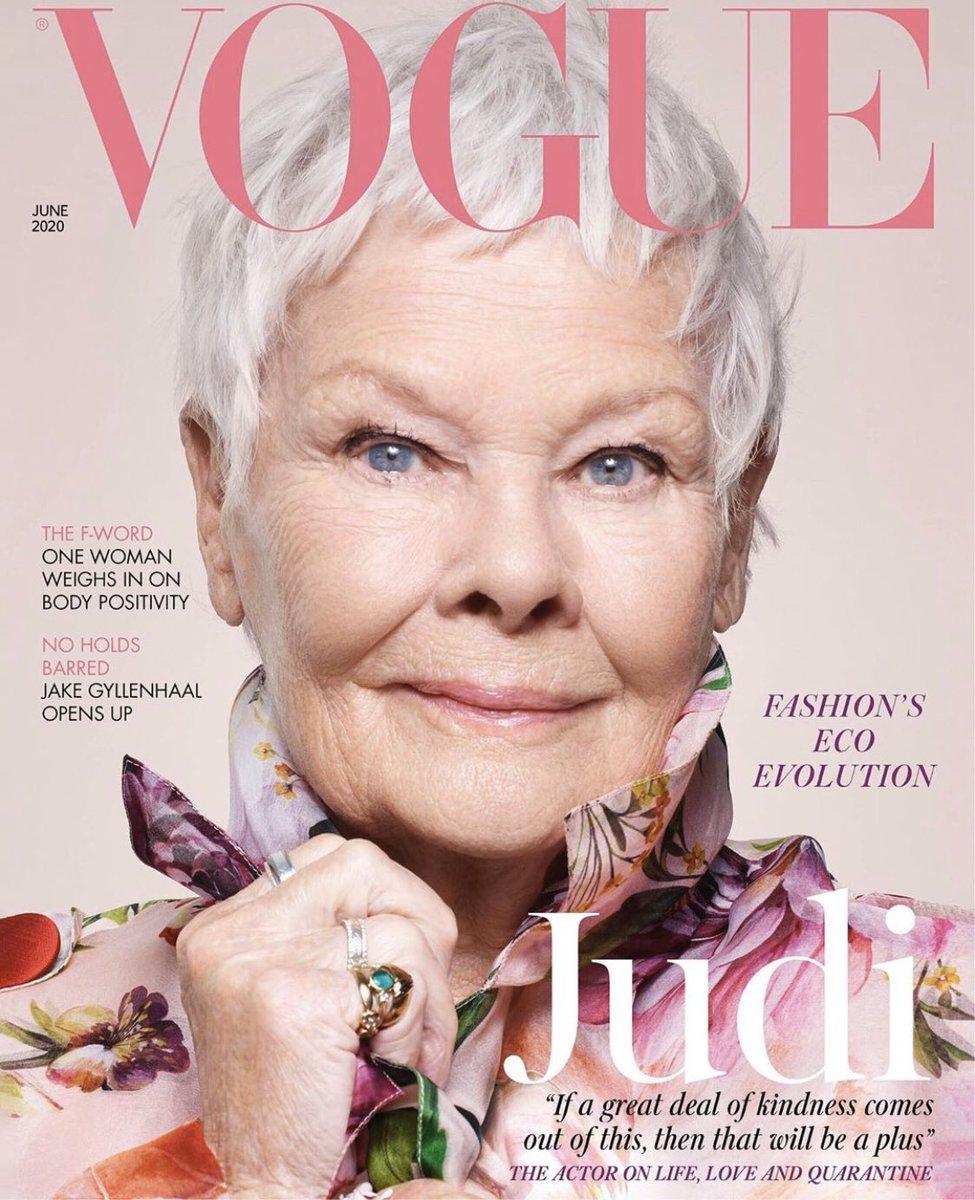 На обложке модного журнала впервые появилась 85-летняя женщина