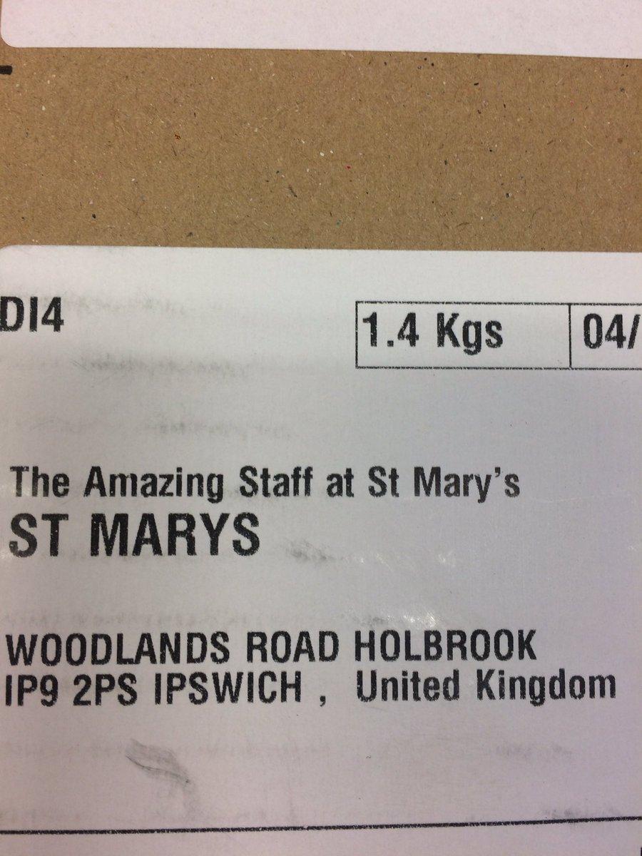 St Marys Twitter post