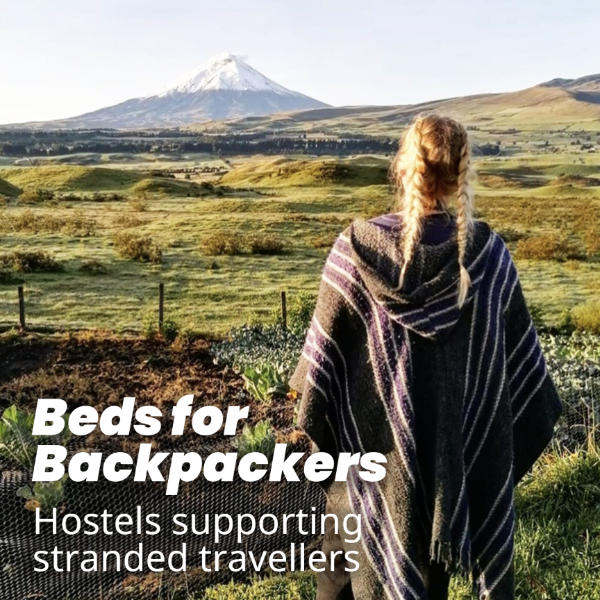 Don't forget, if you're a backpacker struggling to find and pay for accommodation, there are hostels that can help. Find out all you need to know here... https://t.co/uFUCBXLMf5 https://t.co/Nv5nPhZhEv