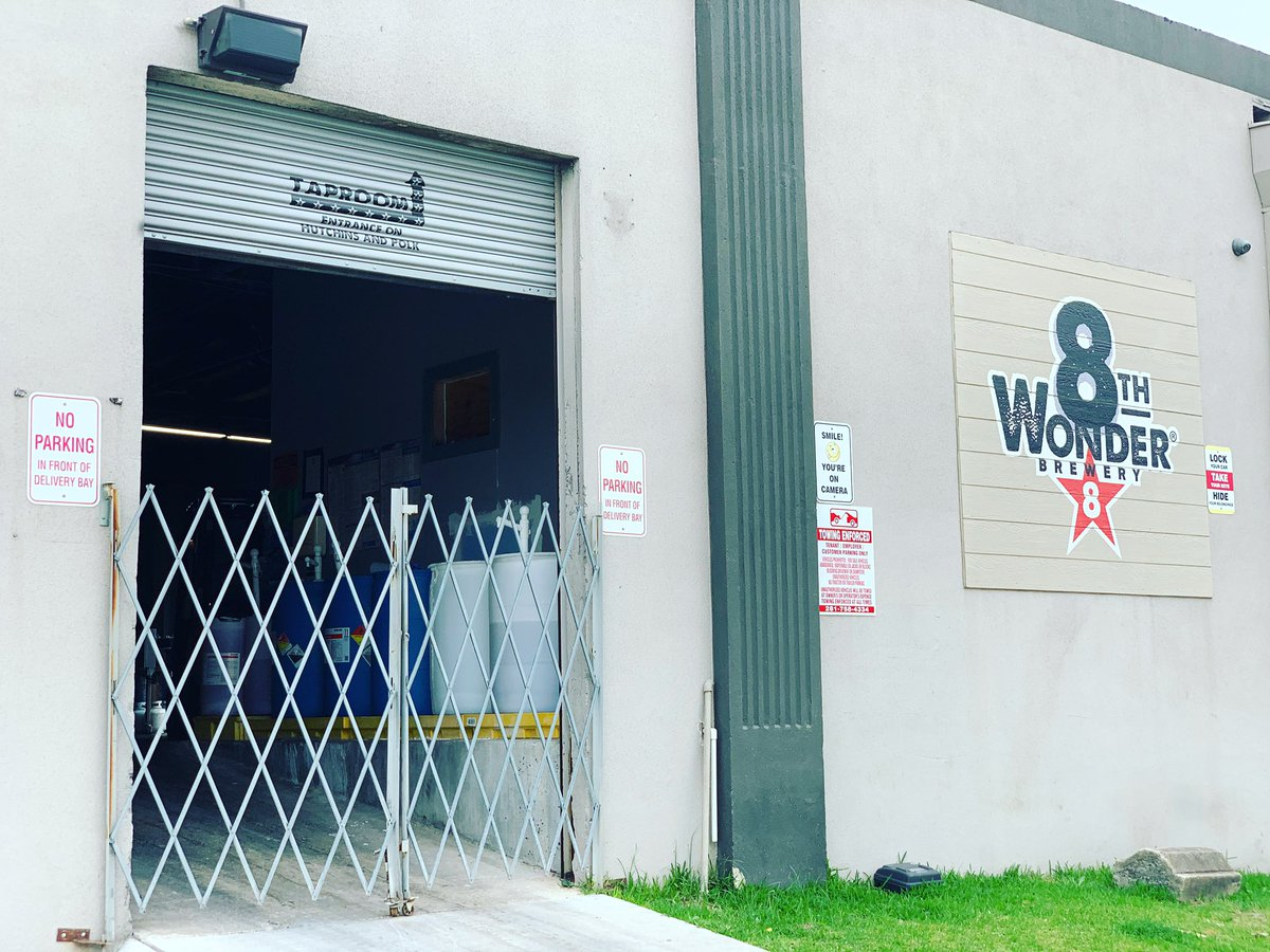 We hope to unlock our gates soon! Curbside pick-up resumes 1p-7p today. Pre-order: shop.8thwonder.com