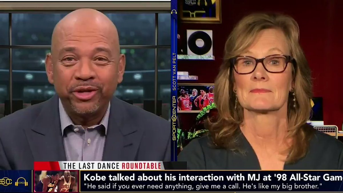 How close were Kobe and Michael? Jackie MacMullan and I remember their bond behind the scenes #TheLastDance