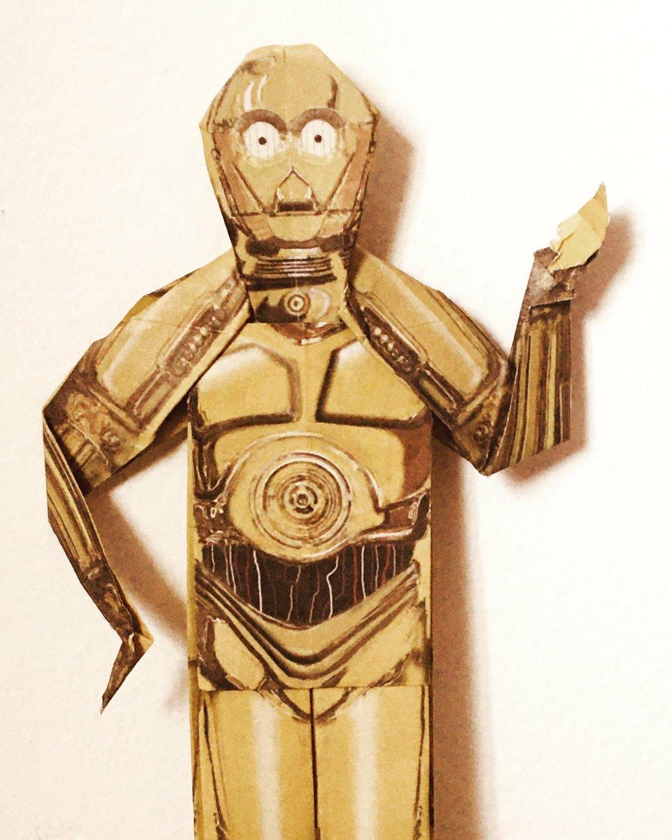 Mara Jade Ahsoka C-3PO Padme | Origami Yoda | 1200x960