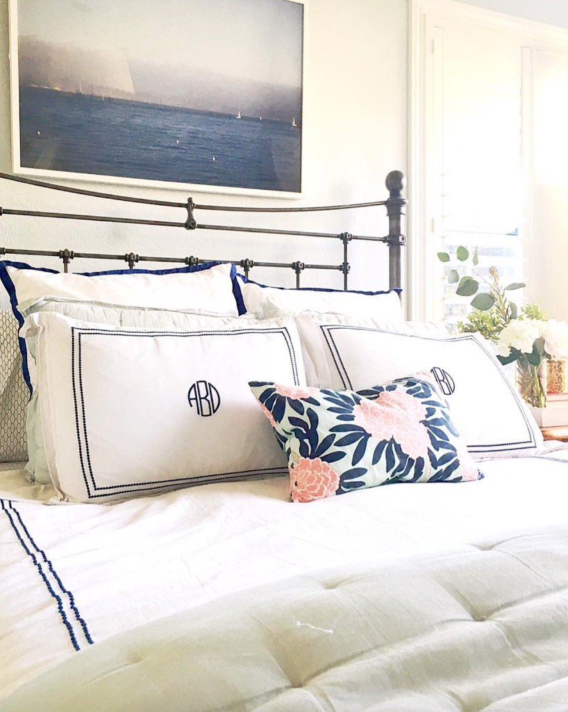 #MondayMantra: make the bed. 📷: tcbstyle #MyLandsEnd  Shop bedding: https://t.co/PYVviu3mLw https://t.co/07kPwc5o04