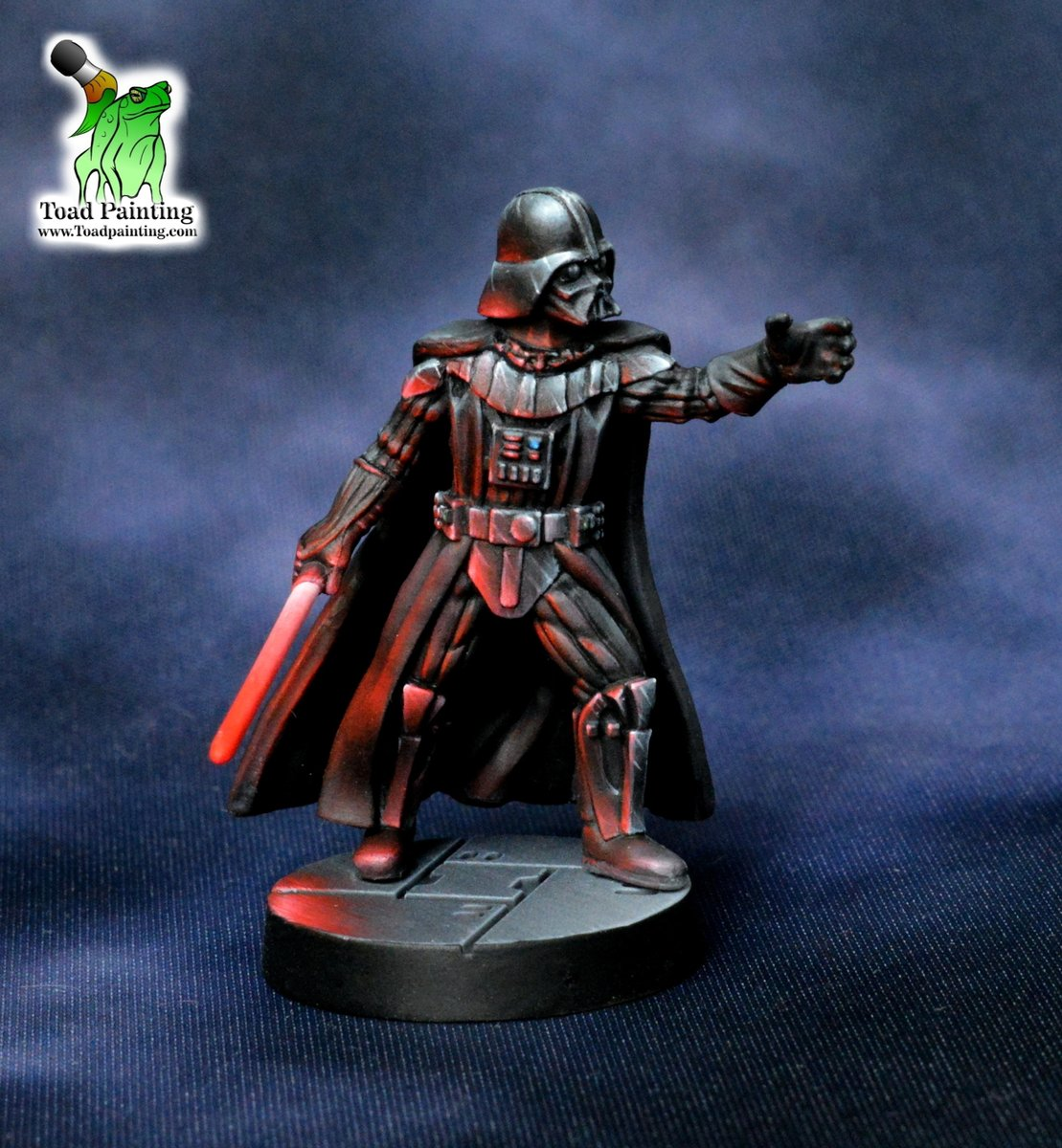 May the 4th be with you! Here's Darth Vader from #StarWarsLegion A few changes from my previous WIP post, namely the lightsaber brightness is switched on advice from a few people. #minipainting #miniaturepainting #miniatures #StarWars  #Warmongers https://t.co/8RPWHfHt2g