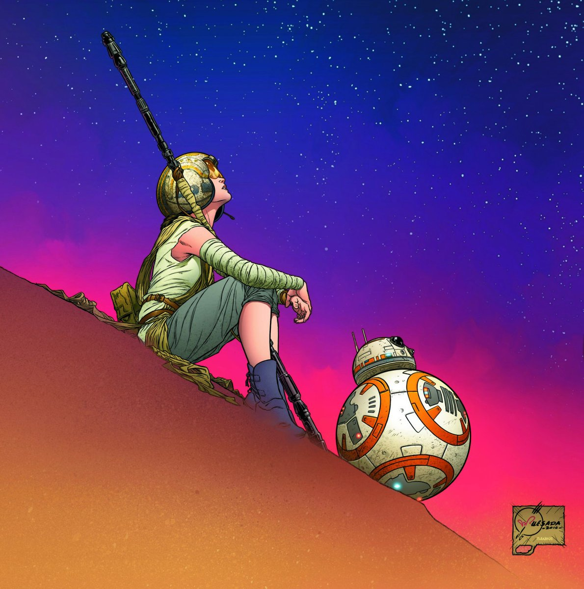 To hope and a brighter future. #MayThe4thBeWithYou (🖼 by @JoeQuesada)