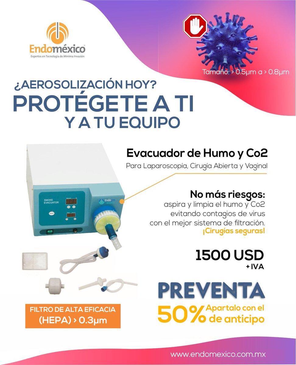 ⚠️¿Cómo te proteges a ti y a tu equipo en tus cirugías?... ¡NO TE ARRIESGUES!⚠️  📞 LADA sin Costo: 01 800 823 32 32 📱WHATSAPP: (+521) 22 24 55 99 75  #laparoscopia #endomexico #cirugia #cirujanos #equipomedico #laparoscopistas #instrumentalmedico #salud #COVIDー19  #coronavirus https://t.co/zKL5E9IVTa