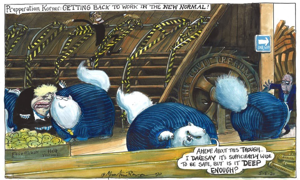 Political Cartoon On Twitter Martin Rowson On Government Plans