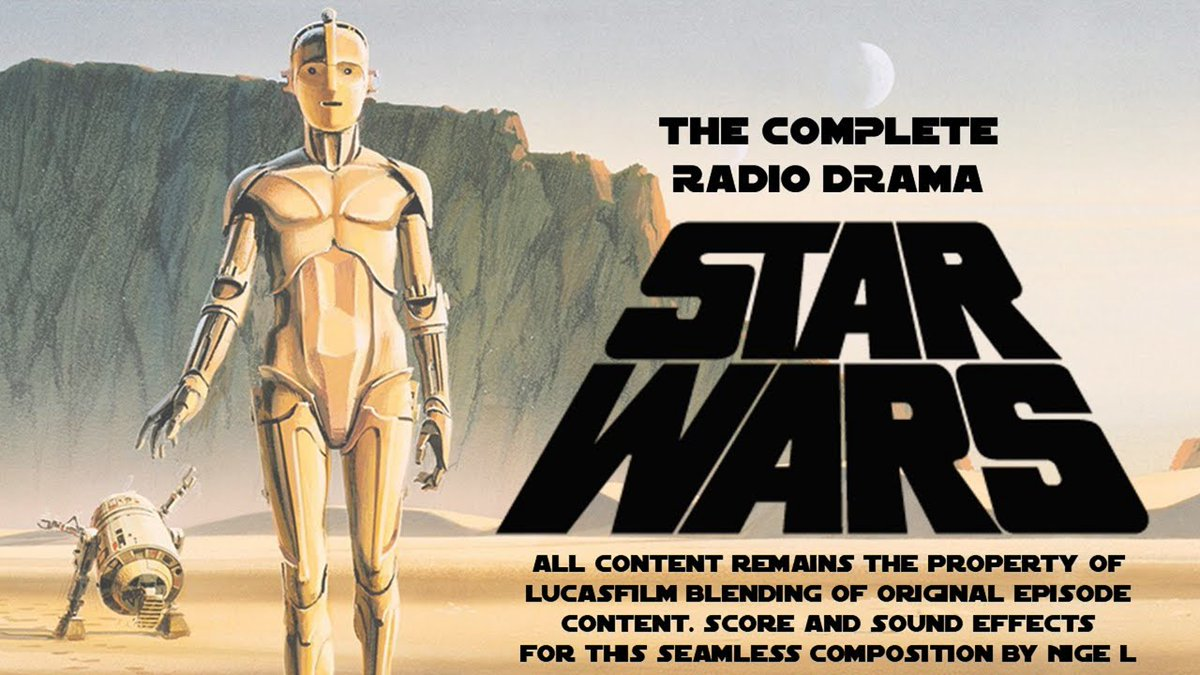 The Original Star Wars Trilogy Adapted into a 14-Hour Radio Drama by NPR (1981-1996)
