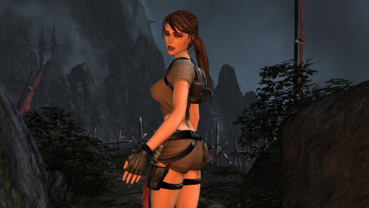 Henry On Twitter Tomb Raider 2013 Legend Lara Mod