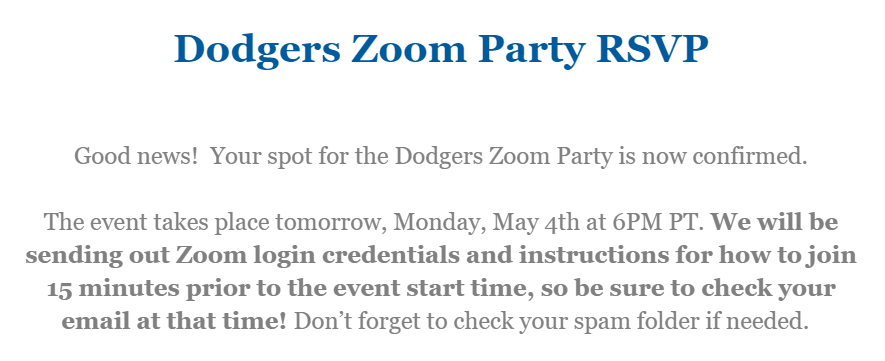 Dodgers Nation On Twitter Who All Is Joining Us At The Dodgers Zoom Party